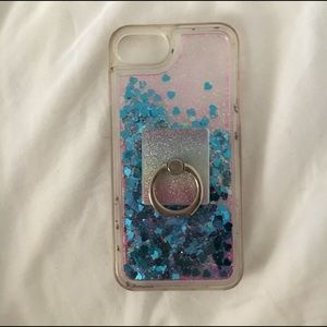 Nanette Lepore iphone case w/ popsocket